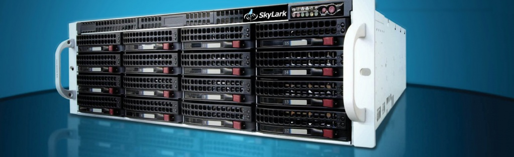 Ultra HD/HD/SD Ingest and Playout  Channel In A Box | SkyLark Technology